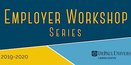 Employer Workshop Series 2019-2020 tickets