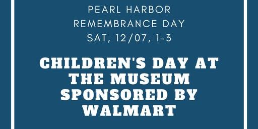 Children's Day at the Museum Sponsored by Walmart