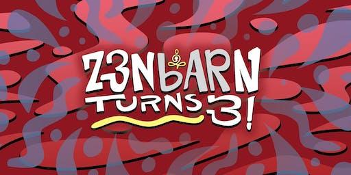 Zenbarn Turns 3!