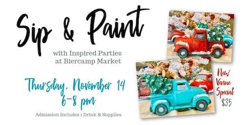Sip & Paint at Biercamp Market