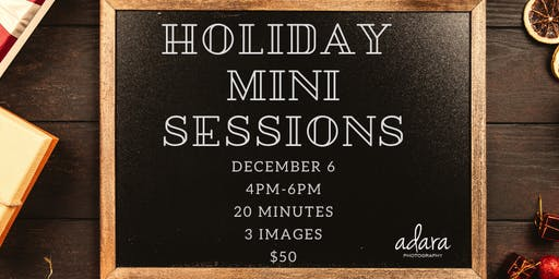 Holiday Studio Mini Sessions