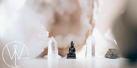 Intro to Crystals + Meditation + Reiki tickets