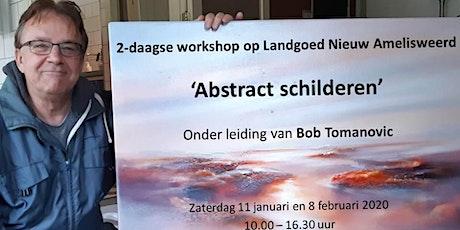 2-daagse workshop 'Abstract schilderen' met Bob Tomanovic tickets