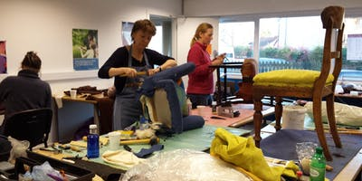 Sue Macnab's Coupar Angus Afternoon Upholstery Classes