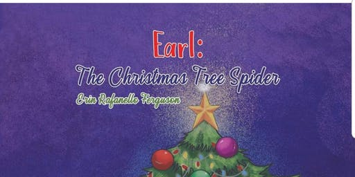 """Frosting & Fiction at Camp Cake """"Earl :  The Christmas Tree Spider """""""