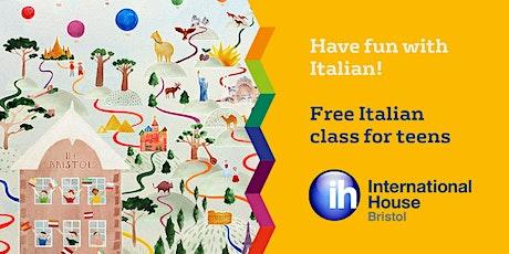 Italian for teens (1 hour fun class) - Bristol Lifelong Learning Festival tickets
