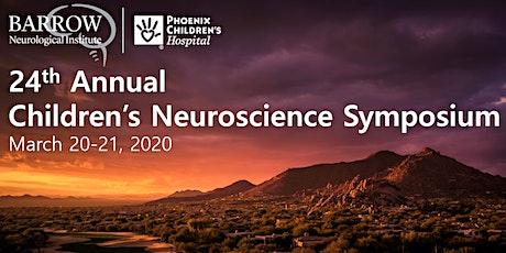 24th Annual Children's Neuroscience Symposium tickets