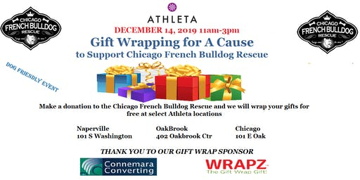 Chicago French Bulldog Rescue Wrapping for A Cause