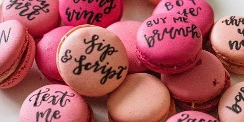 Culinary and Calligraphy with Macrons