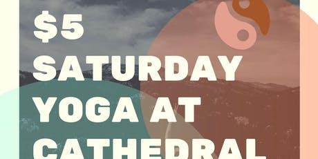 $5 Yoga tickets