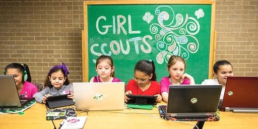 Girl Scouts host Cyber Security: Layers of Security at Summerlakes!
