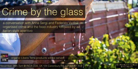 Talk and Aperitivo: Crime by the Glass tickets