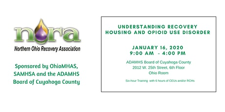 Understanding Recovery Housing & Opioid Use Disorder tickets