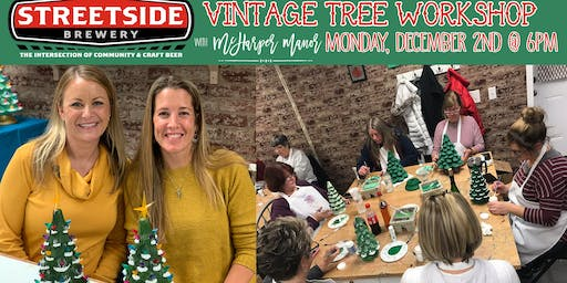 Paint your own Vintage Ceramic Tree