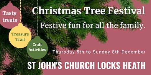 Christmas Tree Festival | St John's Church, Locks Heath