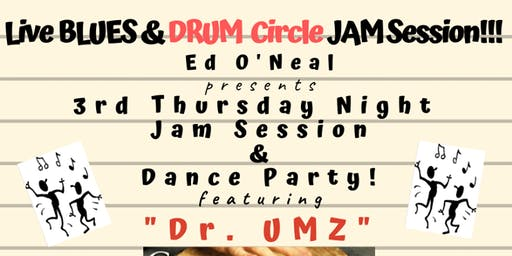 CONYERS - Live BLUES & DRUM Circle Jam Session Open Mic Dance Party!!!