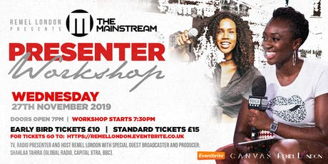 The Mainstream Presenter Workshop tickets