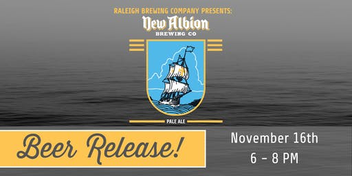 Raleigh Brewing Presents: New Albion Brewing Co. Pale Ale | Beer Release