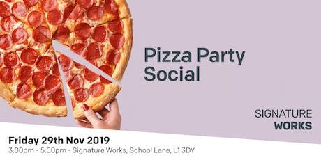 Pizza Social tickets