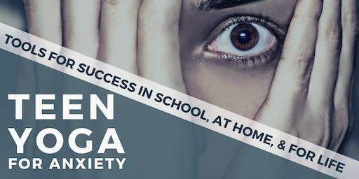 Teen Yoga for Anxiety at Samskara Yoga & Healing