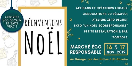Réinventons Noël - marché éco-responsable