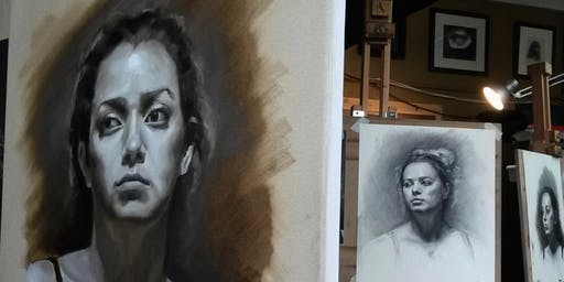 Alla Prima Grisaille Portrait Workshop