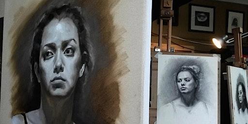 Alla Prima Grisaille Portrait Workshop
