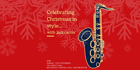 Celebrate Christmas in Style with Jazz Carols tickets