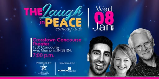 The Laugh In Peace Comedy Tour