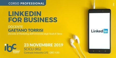 LinkedIn for Business biglietti