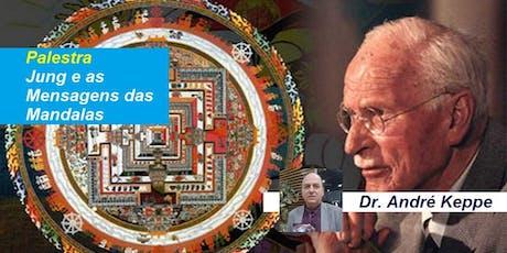 Palestra Jung e as Mensagens das Mandalas – Dr. André Keppe ingressos