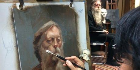 Using Colour in Alla Prima Portraits 1 - Warm & Cool Colour tickets