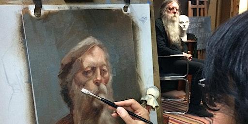 Using Colour in Alla Prima Portraits 1 - Warm & Cool Colour