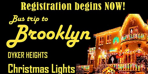 Holiday Trip Dinner to  Spumoni Gardens & Dyker Lights
