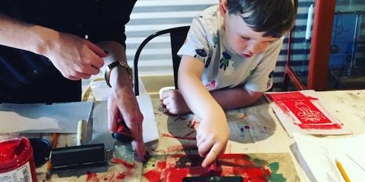 Family Holiday Kick off Party (holiday card making) 5PM - 6PM