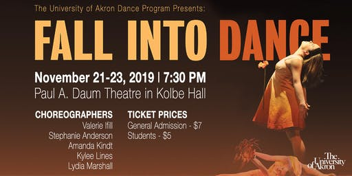 Fall Into Dance - The UA Dance Program 2019 Fall Dance Concert