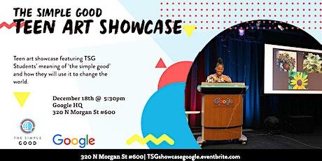TSG Teen Visual Arts Showcase @ Google tickets