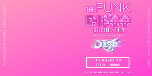 The Funk and Disco Orchestra (Scala, London)