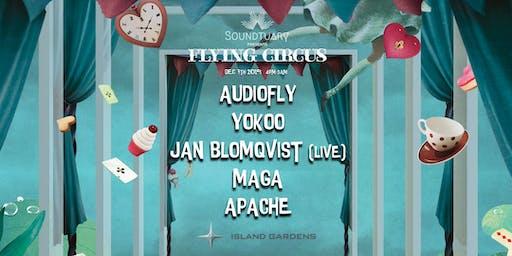 ♠ Soundtuary x Flying Circus ♠ Audiofly, Yokoo, Jan Blomqvist, Maga, Apache