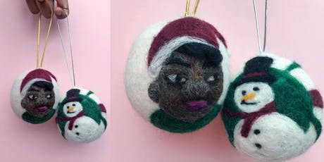 Holiday Felted Ornament  tickets