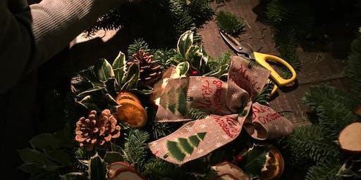 Festive Wreath Making