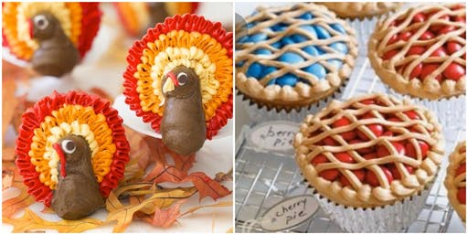 Thanksgiving Cupcake Decorating 101