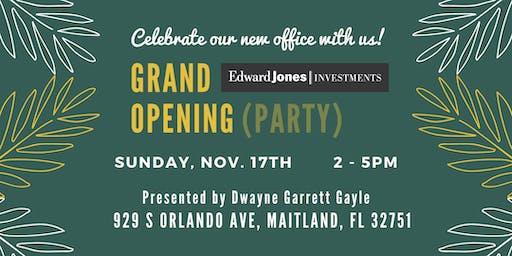 Grand Opening Celebration!