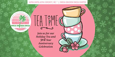 Holiday Tea & 3rd Year Anniversary Celebration tickets