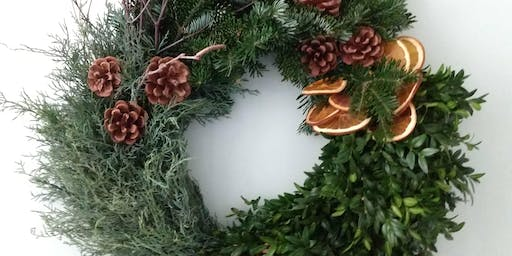 Winter Wreath Workshop w/Personalized Ornament