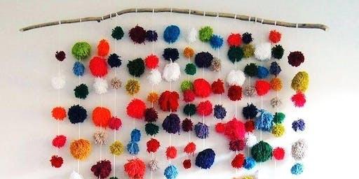 Saturday November 16 - Kids Yarn Wall Hanging Art