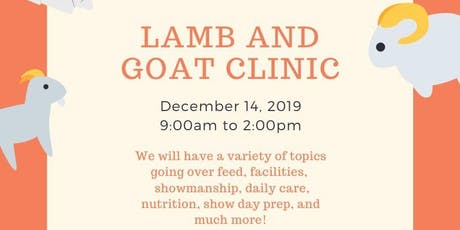 Lamb and Goat Clinic tickets