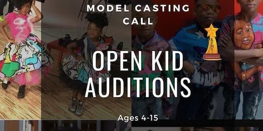 Kid Modeling Auditions
