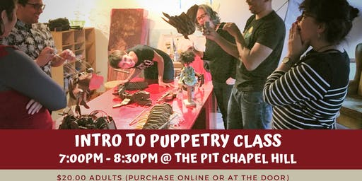 Intro to Puppetry Class