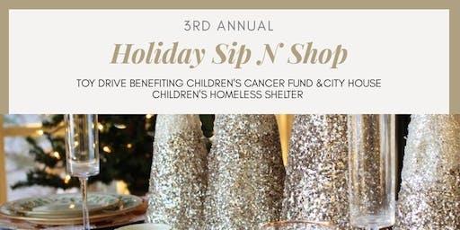3rd Annual Holiday Sip N Shop